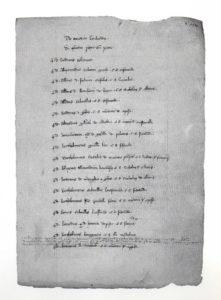 Matricola della Compagnia dei Lombardi del 1314 (Archivio di Stato di Bologna)